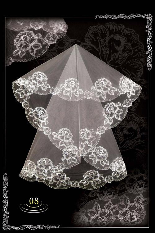 bridal veil embroidery №8