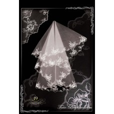 bridal veil embroidery №19