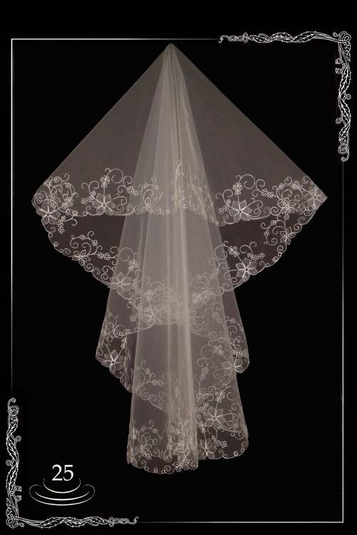 Multi tier velo da sposa