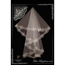 bridal veil embroidery №27