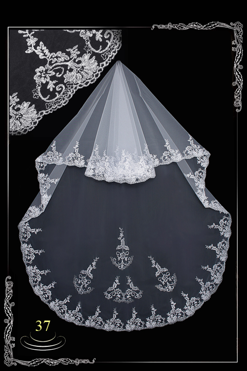 Фата невесты №37