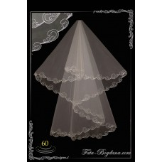 bridal veil embroidery №60