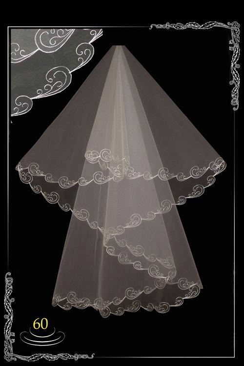 bridal veil embroidery №60