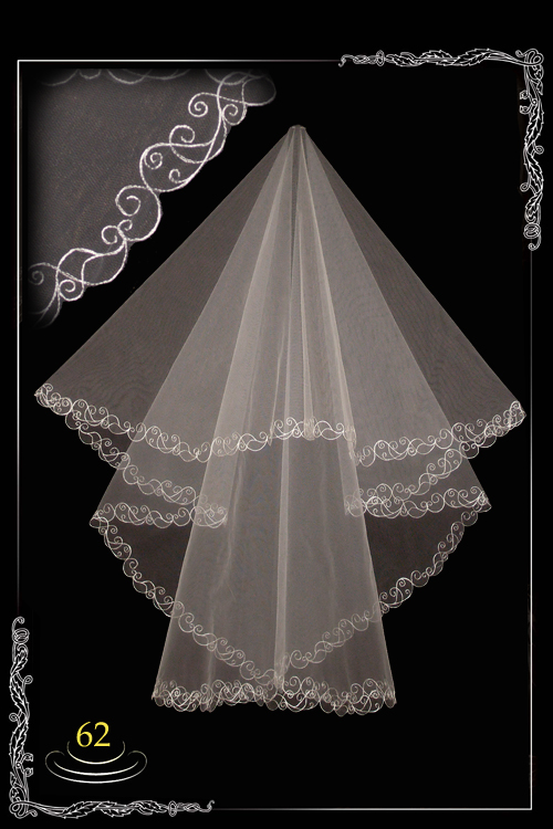 bridal veil embroidery №62