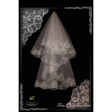 bridal veil embroidery №67
