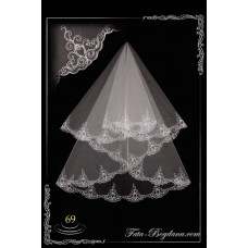 bridal veil embroidery №69