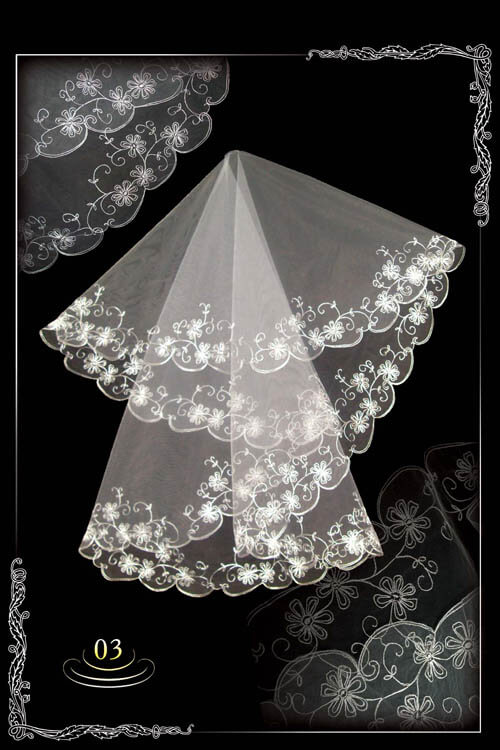 bridal veil embroidery №3