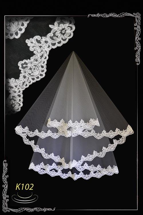 veil of lace K102