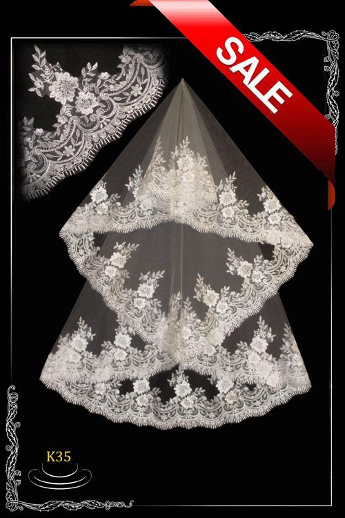 Lace veil K 35