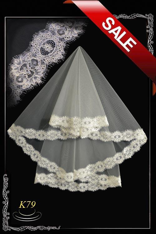 Lace veil K79