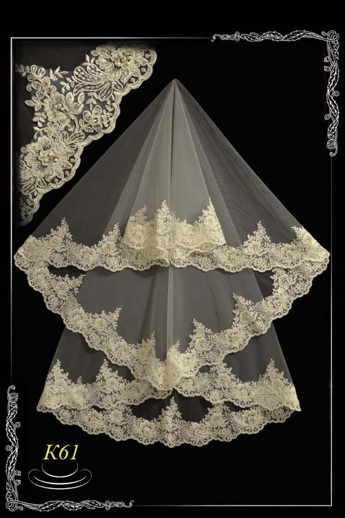 Lace veil K61