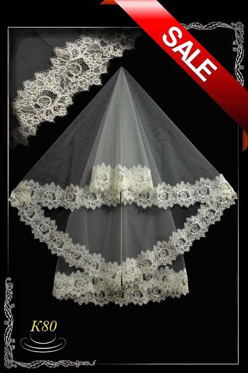 Lace veil K80-2