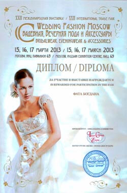 exhibition of wedding veils 2013